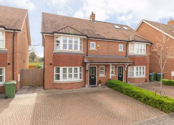 Thumbnail 3 bed semi-detached house for sale in Kings Gardens, Walton-On-Thames