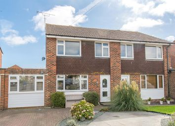 Thumbnail 4 bedroom semi-detached house for sale in Wear Road, Durrington, Worthing