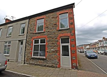 Thumbnail 1 bedroom terraced house to rent in Lawn Terrace, Treforest
