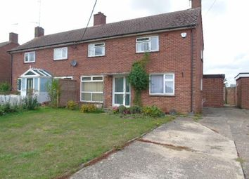 Thumbnail 3 bedroom semi-detached house for sale in Queens Close, Combs, Stowmarket