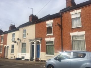 Thumbnail 2 bedroom terraced house to rent in Pytchley Street, Northampton