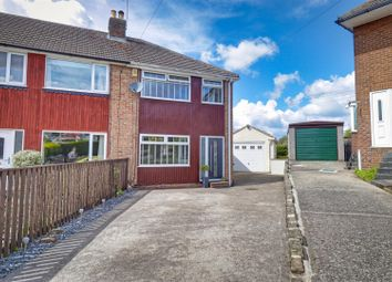 Thumbnail 3 bed property for sale in Whitestone Crescent, Yeadon, Leeds