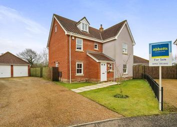 Thumbnail 5 bed detached house for sale in Watton, Thetford