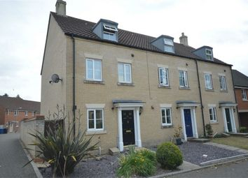 Thumbnail 3 bedroom end terrace house for sale in Marauder Road, Old Catton, Norwich
