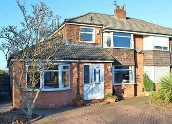 Thumbnail 3 bed semi-detached house for sale in Turves Road, Cheadle, Cheshire
