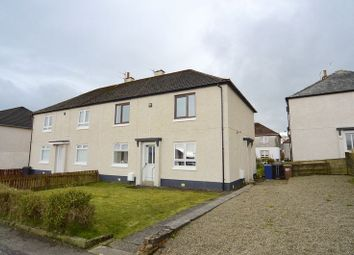 Thumbnail 2 bed flat for sale in Jean Armour Drive, Mauchline
