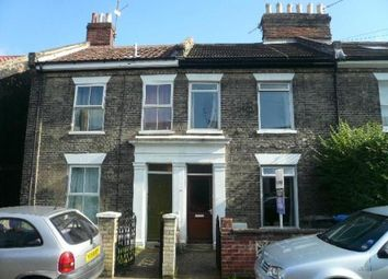 Thumbnail 4 bedroom terraced house to rent in Gladstone Street, Norwich