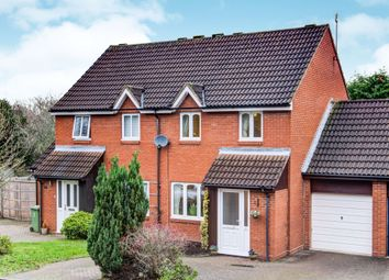 Thumbnail 3 bed semi-detached house for sale in Greensward Close, Kenilworth