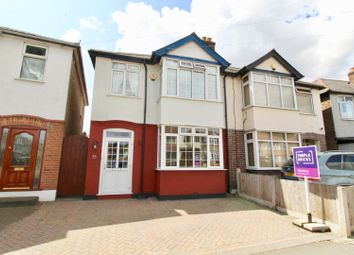 Thumbnail 3 bed semi-detached house for sale in Collier Row Lane, Romford