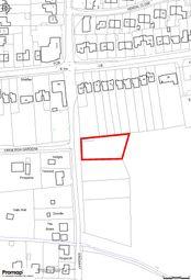 Thumbnail Land for sale in Cranleigh Gardens, Hullbridge, Hockley