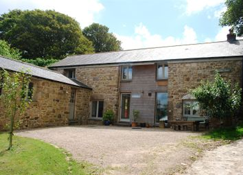 Thumbnail 4 bed detached house for sale in Gulval, Penzance