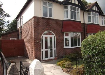 Thumbnail 3 bed semi-detached house to rent in Sandileigh, Hoole, Chester