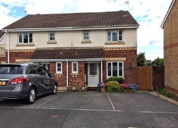 Thumbnail 3 bed semi-detached house for sale in Bryn Gorsedd, Litchard, Bridgend.