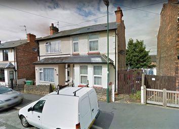 Thumbnail 3 bed semi-detached house for sale in Percival Road, Nottingham, Nottinghamshire