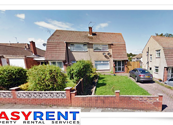 Thumbnail 3 bed semi-detached house to rent in Llanedeyrn Road, Penylan