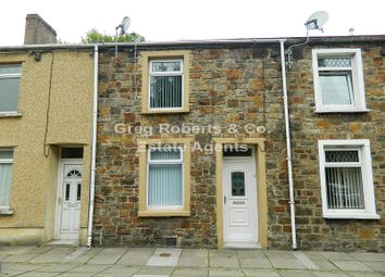Thumbnail 3 bed terraced house for sale in Park Place, Tredegar, Blaenau Gwent.