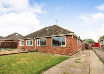 Thumbnail 3 bedroom semi-detached bungalow for sale in Thornham Road, Sprowston, Norwich