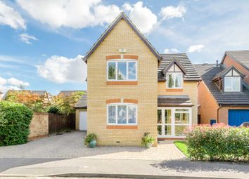 Thumbnail 4 bed detached house for sale in Sorrell Drive, Newport Pagnell