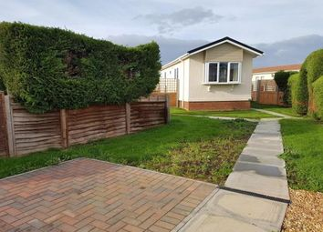 Thumbnail 2 bedroom mobile/park home for sale in Three Star Park, Lower Stondon, Henlow, Bedfordshire
