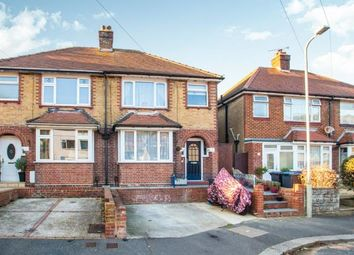 Thumbnail 3 bed semi-detached house for sale in Manor Road, Dover, Kent, England