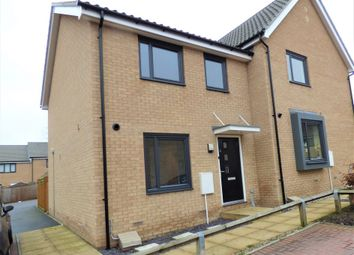 Thumbnail 2 bed semi-detached house for sale in Fleming Way, Withersfield