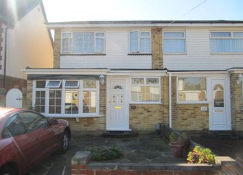 Thumbnail 4 bed terraced house to rent in Epping Close, Romford