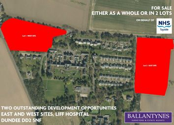Thumbnail Land for sale in East And West Sites, Liff Hospital, Dundee