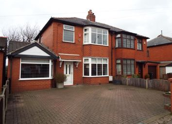 Thumbnail 3 bed semi-detached house for sale in Plodder Lane, Farnworth, Bolton, Greater Manchester