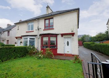 Thumbnail 2 bedroom semi-detached house for sale in Arran Drive, Mosspark, Glasgow