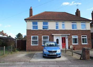 Thumbnail 3 bed semi-detached house for sale in Halton Crescent, Ipswich