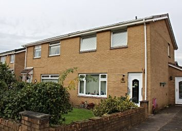 Thumbnail 3 bed semi-detached house for sale in Newbattle Gardens, Glasgow