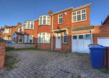 Thumbnail 5 bed semi-detached house for sale in Lemington Gardens, Fenham, Newcastle Upon Tyne