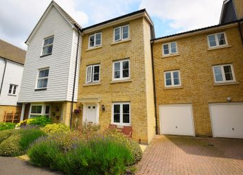Thumbnail 4 bed town house for sale in Dove House Meadow, Sudbury