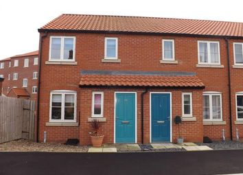 Thumbnail 2 bed end terrace house for sale in Canal Close, Louth, Lincolnshire