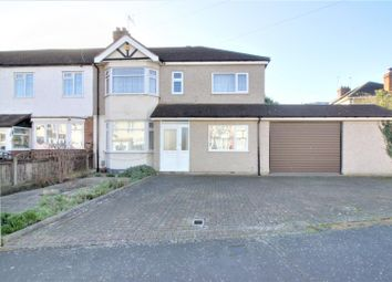 Thumbnail 5 bed semi-detached house for sale in Lodge Crescent, Cheshunt, Waltham Cross