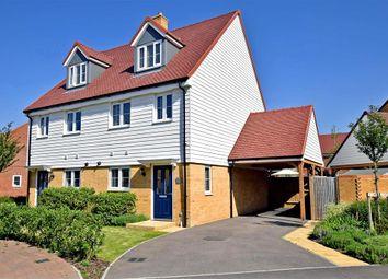 Thumbnail 3 bed town house for sale in Hadleigh Street, Ashford, Kent