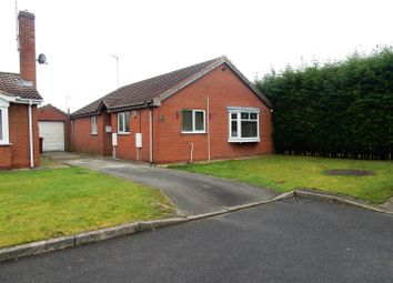 Thumbnail 3 bed detached bungalow for sale in Pine Close, Creswell, Worksop