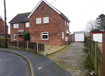 Thumbnail 2 bedroom semi-detached house for sale in Hockwold, Thetford, Norfolk