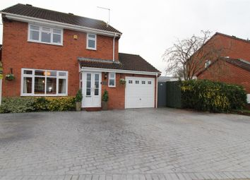 Thumbnail 3 bed detached house for sale in Kynaston Drive, Wem, Shropshire