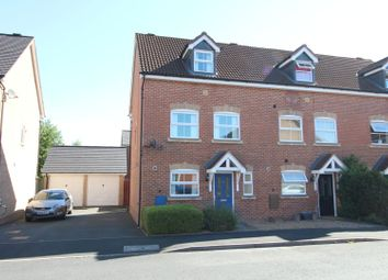 Thumbnail 3 bed town house for sale in Design Close, Bromsgrove