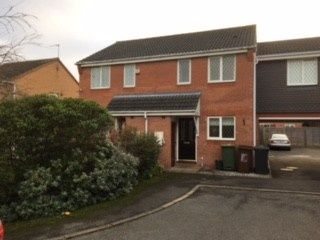 Thumbnail 2 bed semi-detached house to rent in Wentin Close, Corby