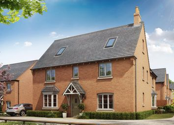 """Thumbnail 5 bed detached house for sale in """"Moorecroft"""" at Shrewsbury Court, Upwoods Road, Doveridge, Ashbourne"""