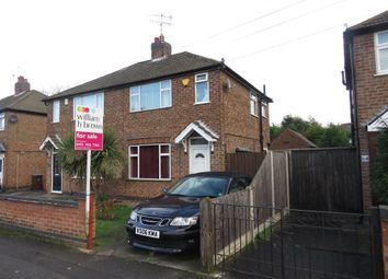 Thumbnail 3 bedroom semi-detached house for sale in Radford Bridge Road, Wollaton, Nottingham