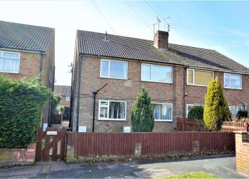 Thumbnail 2 bed flat for sale in Woodfield Close, Lincoln