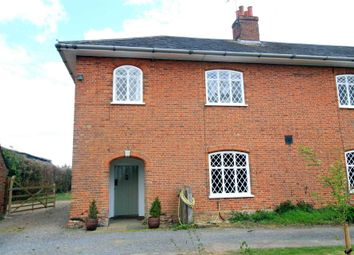 Thumbnail 3 bedroom farmhouse to rent in Marlesford, Woodbridge