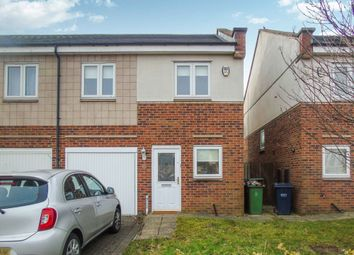 Thumbnail 3 bed semi-detached house for sale in Grebe Close, Dunston, Gateshead