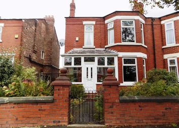 Thumbnail 4 bed semi-detached house for sale in Broadstone Road, Heaton Chapel, Stockport