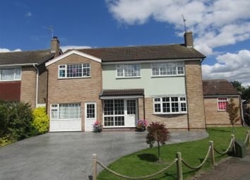 Thumbnail 5 bed detached house for sale in Byfield Drive, Wigston
