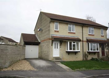 Thumbnail 3 bed semi-detached house for sale in Wicks Drive, Chippenham, Wiltshire