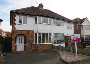 Thumbnail 3 bedroom semi-detached house for sale in Clinton Road, Shirley, Solihull